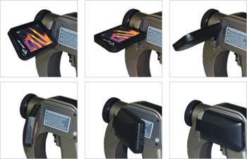工业测温型手持式红外热像仪