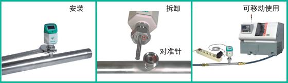 VA420管dao式热式质liang流liang计