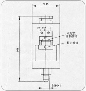 YWK-150壓力控制器