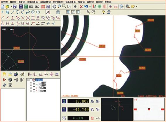 怡信手动型影像测量仪EV2515