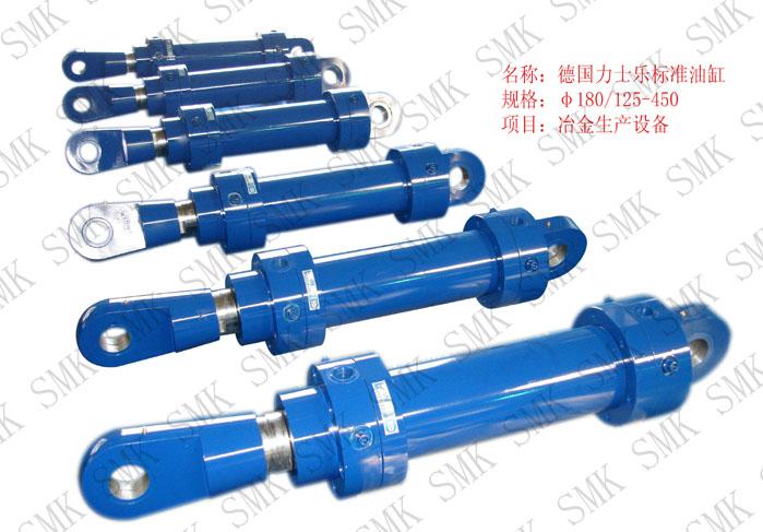 型号: φ180/125-450 品牌: 其它品牌 生产厂商: 韶关市西马克液压缸图片