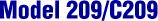 Model 209/C209 - High Accuracy/Low Range Pressure