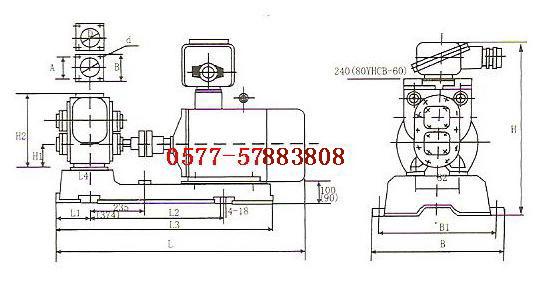 一、YHCB圆弧齿轮油泵产品概述: YHCB齿轮油泵主要适用于输送粘度在5-1500c.s.t,不含固体颗粒无腐蚀性的各种液体。如:汽油、煤油、柴油及机械润滑油,是油槽汽车和石油部门的理想优选泵种。 二、YHCB圆弧齿轮油泵适用范围: YHCB齿轮油泵适用于输送各种油类,如原油、柴油、润滑油。配用铜齿轮可输送低闪点液体,如汽油、苯等。介质温度不超过70,耐高温油泵的使用温度不超过300。(如该泵采用不锈钢,可输送一般腐蚀性) 三、YHCB圆弧齿轮油泵产品特点: YHCB齿轮油泵是高效节能的特殊齿轮泵,具