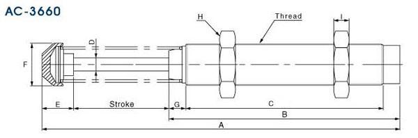 AC2020-2油压缓冲器