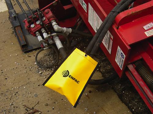 软管漏油接受袋