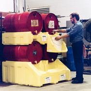 两层油桶架