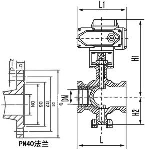 ZDRV電動V型調節球閥