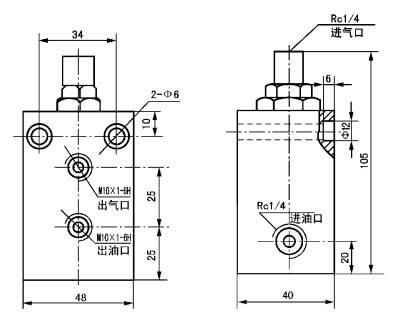 GPF-8          干油喷射控制阀