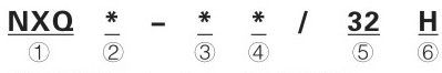 NXQ1-L16/20-H    NXQ1-L161.5-H      NXQ1-L25/10-H    蓄能器