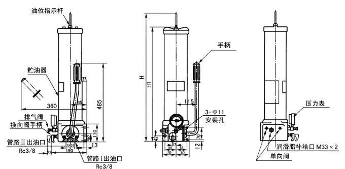 SRB-J7Z-2  FB-4A  SRB-J7Z-5  FB-6A  手动润滑泵