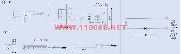 产品目录 气缸 液压缸 工程缸 >>>  磁性开关 >>>  cs1 气缸感应开关