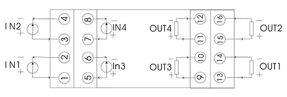 无源信号隔离器