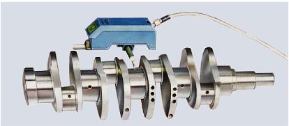 传感器能旋转90°可测量曲轴等复杂工件的表面粗糙度