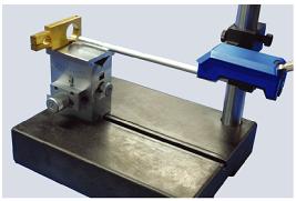 配置加长杆,可测量深度不大于210mm的内孔粗糙度