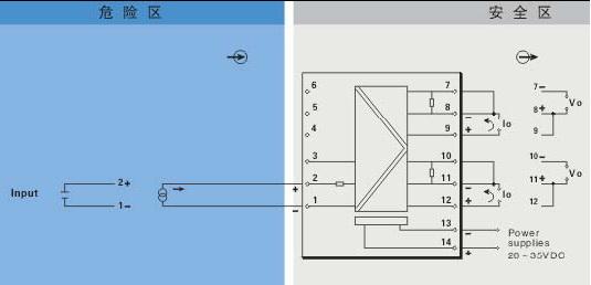 ,  tm5053安全栅产品接线