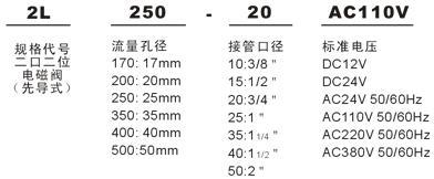 2L200-20 电磁阀
