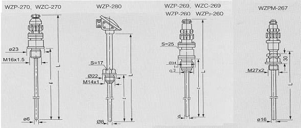 WZP2-260|双支铂热电阻