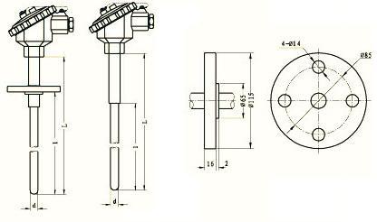 WZPF-130 WZCF-130 WZPF-430 热电阻