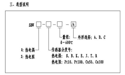 温度变送器 sbwr/sbwz系列