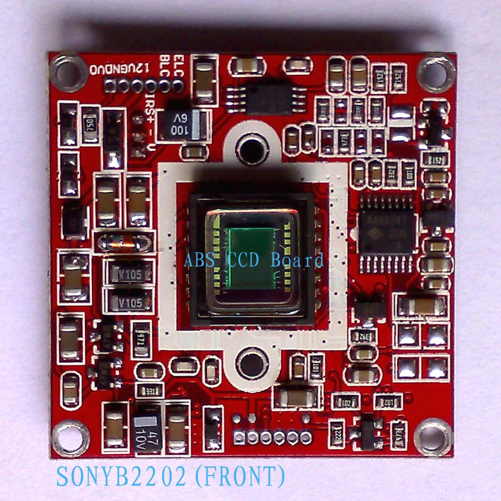 亚博视监控摄像机ccd板机abs-2202