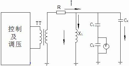 三相交流电路电压接线图