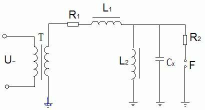 可同时运用串,并联谐振电路,通常成为串并联补偿法,其接线如图1-23