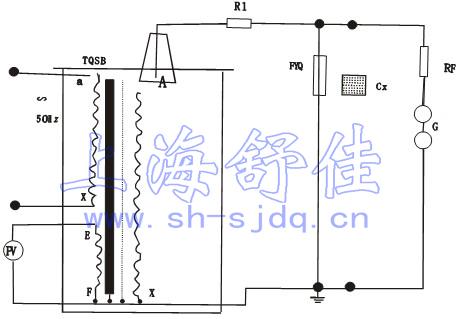 所有类目 图中:r1-限流电阻fyq-阻容分压器rf-球间隙保护电阻g-球间隙