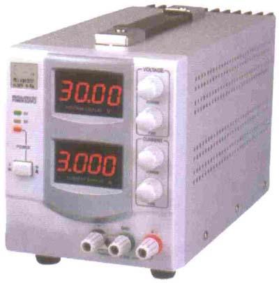 三位LED显示单路输出稳压电源 YR2302DN图片