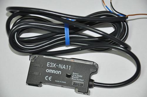 供应欧姆龙光纤放大器传感器e3x-na11 2m