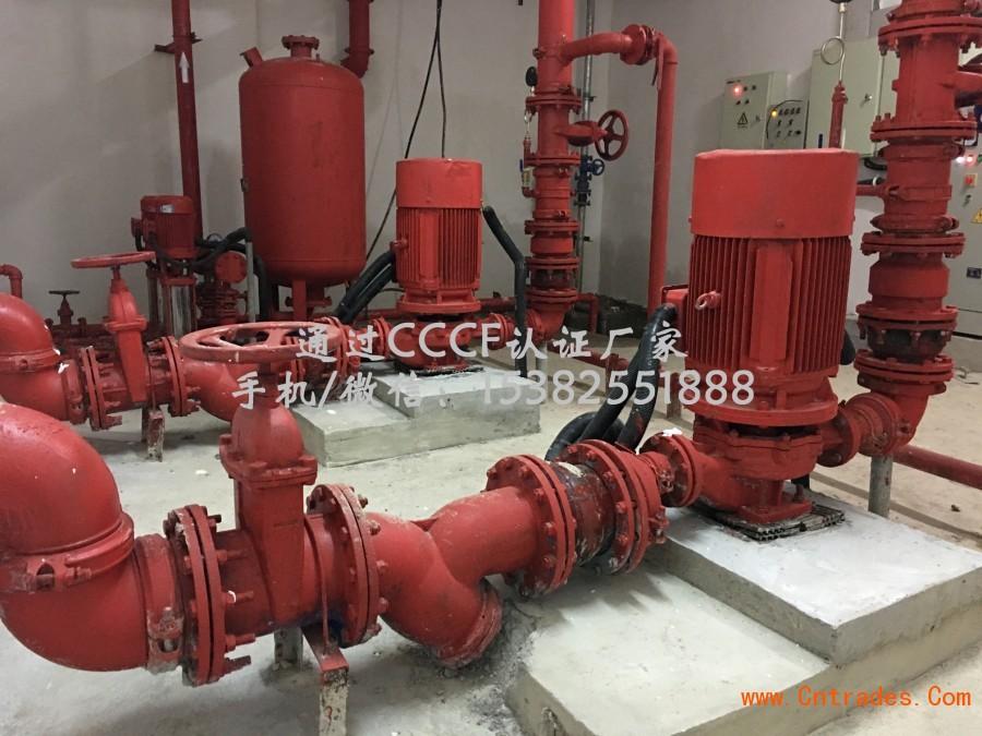 cn 二,产品特点: 1,xbd-i室内立式消防水泵结构紧凑,体积小,外形美观