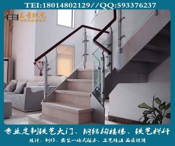 南京王奇钢结构楼梯定制,别墅豪华楼梯,旋转楼梯制作
