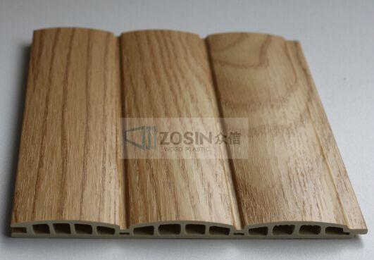 产品不但拥有天然木材的质感和木纹,更具有耐腐蚀,防水,防霉,不被虫蛀