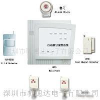 四防区显示联网型无线拨号报警器,电话报警器寻代理商