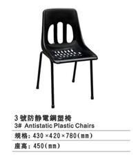 防靜電四腳網孔椅