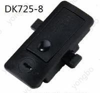 DK725-8ABS+PC带锁芯搭扣锁扣快速扣 DK725-8