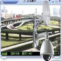 6寸室外高速MPEG4智能无线网络球机:TS806WA