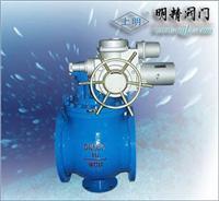 上海上裝式法蘭電動球閥 D973ZAWJ
