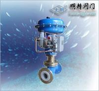 氣動薄膜襯氟調節閥 ZJHP-16F46