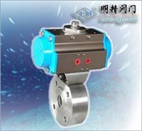 法蘭式氣動超薄型調節球閥 SMQ671F