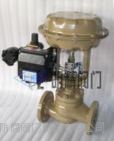 精小型氣動薄膜單座(套筒)調節閥