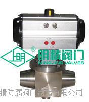 氣動固定球閥上裝式 美標鍛造高壓球閥 非標定做高壓球閥Q647F-600LB
