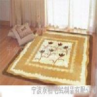 印花、雕花地毯