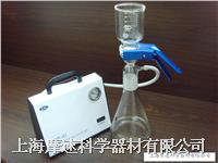 溶劑過濾瓶配真空泵實物演示圖 FB-01T DP-01
