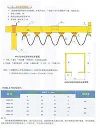 电缆滑轨滑车规格型号01