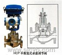 重慶川儀HCP平衡籠式單座調節閥 HCP