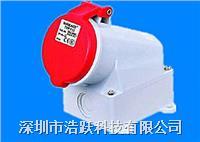 IP44工业插座,防水工业插座
