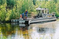 溢油回收环保船