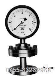 旭计器隔膜式压力计 841