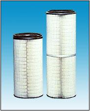 喷粉专用增强型聚脂滤芯