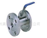 广式法兰球阀的详细介绍  西德式不锈钢法兰球阀. 公称压力:2.5mpa.图片